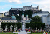Salzburg from Mirabell Gardens