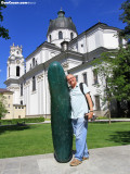 Giant Pickle at Universität Salzburg