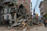 Earthquake Katmandu 25 april 2015