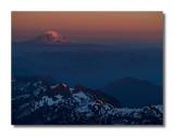 Mt Adams at Sunset