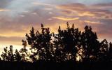 Sunset at Massacre Rocks