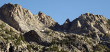 Evening Sunlight on Lamoille Canyon's Ramparts