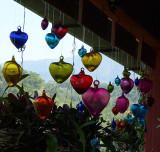 Baubles over Botanic Garden