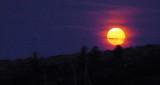 Moonrise at Angel Lake