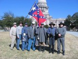 Confederate Heroes Day '08, Austin Capitol grounds
