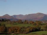 Glen Luss hills from Gartocharn