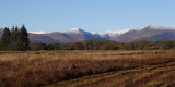 The Glen Luss hills from Low Mains