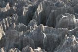 View of the limestone karst at Great Tsingy