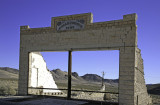 Rhyolite store remains