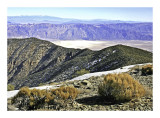 Badwater from Wildrose peak.