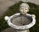 Ghastly water fountain  Howard, KS