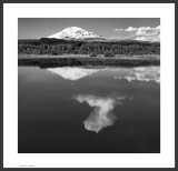 Mt. Adams from Trout Lake,  Washington