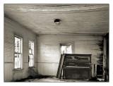 Empty church,  Burbank,  OK