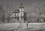 Second Empire Mansard Style,  Peabody Kansas 1855-1885