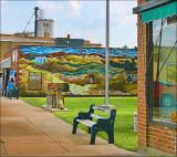 Main street,  Lucas, KS