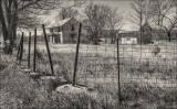 Deserted Farm near Smalleyberg,  Kansas