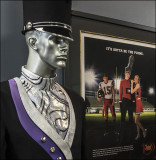 Lobby Mannequin and Advertisement