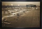 Boeing flight line,1940's