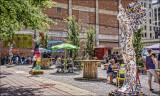 Chalk Artist's Area