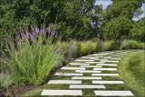 Curved Garden Walk