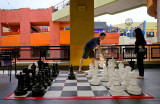 Playing Chess at Horton Plaza