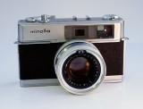 Minolta Hi-Matic 7  (1963) My first 35mm