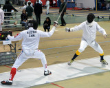 Queen's Fencing At Royal Military College 11-02-13