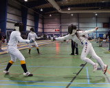 Queen's Fencing At Royal Military College 11-03-13