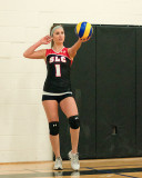 St Lawrence vs Diggers W-Volleyball 01-05-14