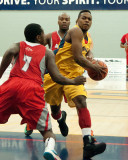 Queen's vs Algoma M-Basketball 01-31-14