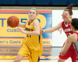 Queen's vs Algoma W-Basketball 01-31-14