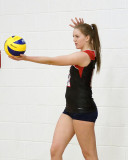 St Lawrence vs Diggers W-Volleyball 03-23-14