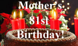 2013 - Mother's 81st Birthday - Album 3 - Friends