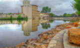 The Ames Mill Cannon River Dam