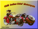 Collector's Bike Indian Motorcycle 1948