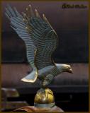 Eagle Hood Ornament You Say