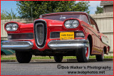 1958 Red Two Door Sedan