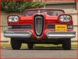 1958 Edsel Two Door Sedan Head On