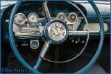 1958 Edsel Station Wagon's Steering Wheel & Dashboard