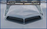 1965 GTO Hood Air Intake Scoop