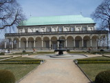Gardens of the Prague Castle ...St. Anne's Summer Palace ...