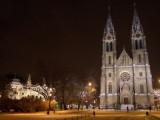 Church in Vinohrady ..