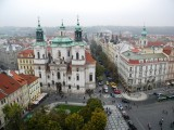 Old Town Square from the tower ...