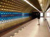 Station on the subway ..