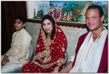 Rahsaan & Pooja @ the Temple