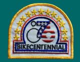 Bikecentennial badge