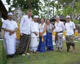 Hellmut Issels, Bali, The Oberoi, Full Moon Blessing, Nov. 2012