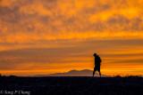 walking at dawn