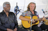 2013_08_10 Holger Petersen live with Hans Theessink with Terry Evans