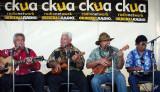 2012_08_12 Lark Clark interviews George Kahumoku Jr. and the Masters of Hawaiian Music on CKUA